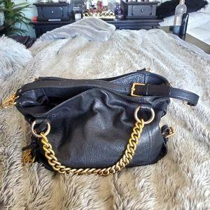 Michael Kors Black Shoulder Bag with Handles